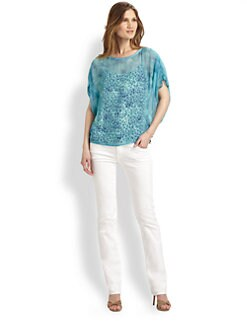 Elie Tahari - Jill Silk Blouse