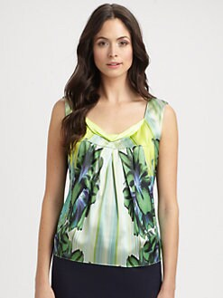 Elie Tahari - Regan Stretch Silk Blouse