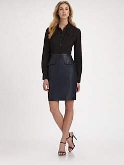 Elie Tahari - Taylor Western Blouse