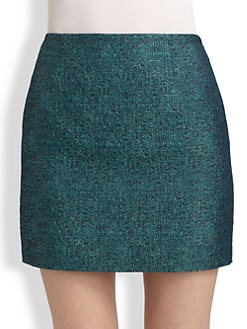 Elie Tahari - Alexis Tweed Skirt