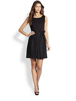 Elie Tahari - Jacquard Dress