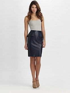 Elie Tahari - Naomi Leather Skirt