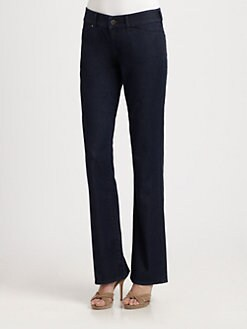 Elie Tahari - Joey Straight-Leg Jeans