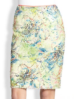 Elie Tahari - Sequin Vera Skirt