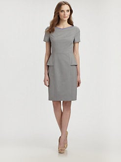 Elie Tahari - Sybil Peplum Dress