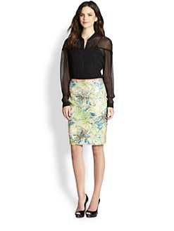 Elie Tahari - Silk Chelsea Blouse