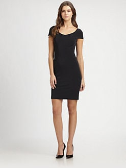 Elie Tahari - Bernice Cap-Sleeve Dress