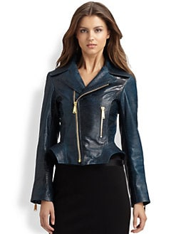 Elie Tahari - Leather Francis Jacket
