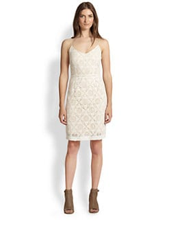Joie - Orchard Cotton Crocheted Dress