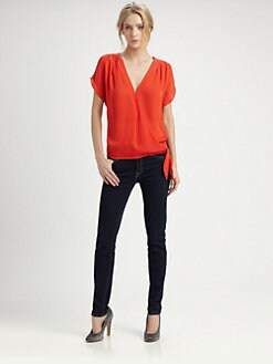 Joie - Darel Silk Wrap Top