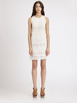 Joie - Behati Eyelet Dress