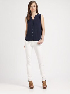 Joie - Finnegan Silk Top