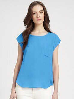 Joie - Rancher Silk Top