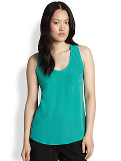 Joie - Alicia Silk Racerback Tank