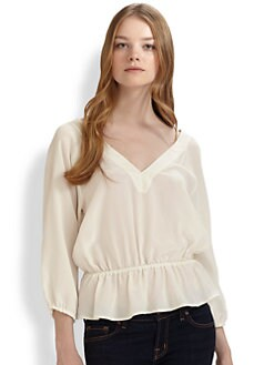 Joie - Veritgo Long-Sleeve Top