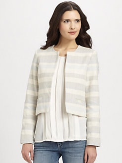Joie - Orielle Striped Woven Jacket