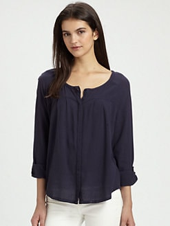 Joie - Adelman Crepe Cotton Top