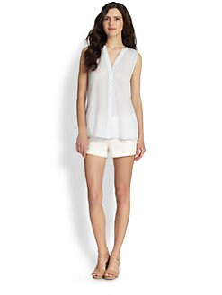 Joie - Garnier Crepe Cotton Blouse