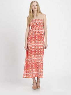 Joie - Ruma Silk Printed Maxi Dress