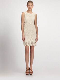 Joie - Vionne Crochet Lace Dress