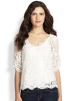 Joie - Nevina Lace Top