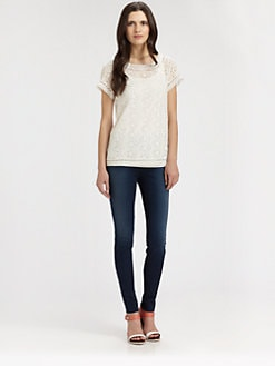Joie - Belden Eyelet Top
