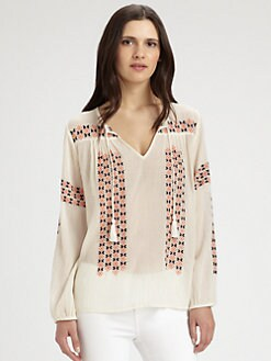 Joie - Nira Embroidered Top