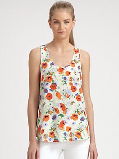 Joie - Silk Floral Top