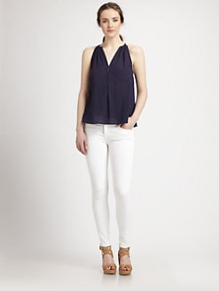 Joie - Eniko Shirred Tank