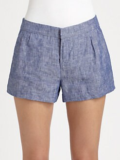 Joie - Merci Chambray Linen Shorts