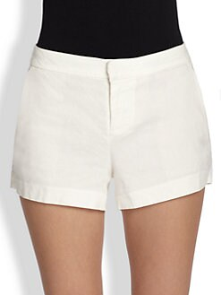 Joie - Gleda Stretch Linen Shorts