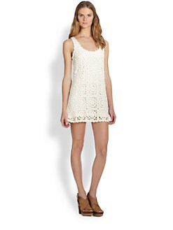 Joie - Elida Crochet Lace Dress