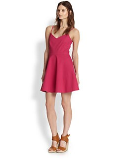 Joie - Viernan Stretch Cotton Fit-&-Flare Dress