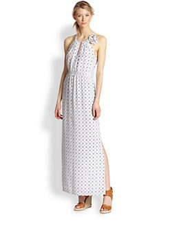 Joie - Amaretta Silk Printed Maxi Dress