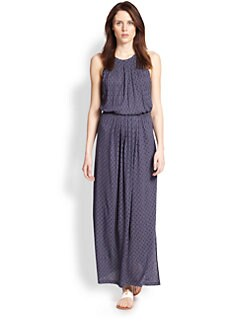 Joie - Sumey Tile-Print Maxi Dress