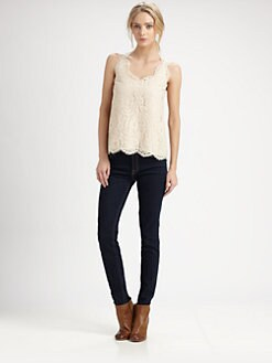 Joie - Cina Lace Top