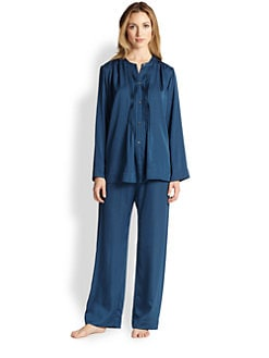 Donna Karan - Laundered Satin Pajama Set