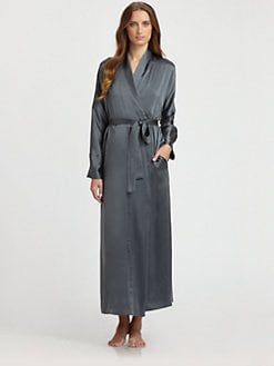 Donna Karan - Silk Long Robe