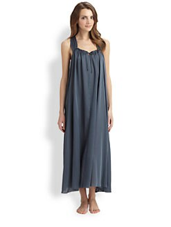 Donna Karan - Laundered Long Gown