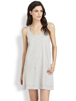 Donna Karan - Casual Luxe Cotton Knit Chemise