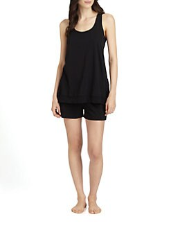 Donna Karan - Casual Luxe Pajama Shorts