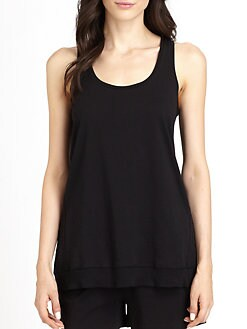 Donna Karan - Casual Luxe Knit Tank