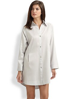 Donna Karan - Sateen Laundered Sleepshirt