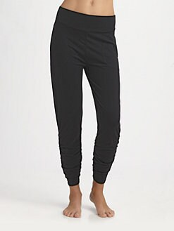 Donna Karan - Ruched Leggings