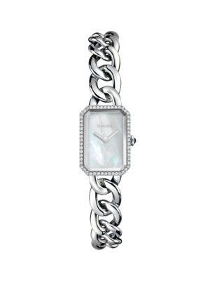 Première Diamond & Stainless Steel Watch