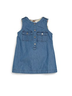 Burberry - Infant's Cotton Chambray Dress
