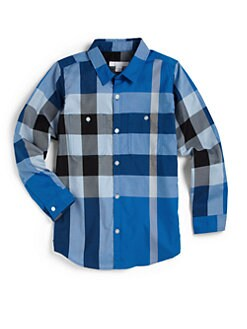 Burberry - Boy's Exploded Check Shirt