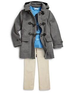 Burberry - Boy's Wool Duffle Coat