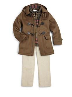 Burberry - Boy's Check Sportshirt