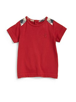 Burberry - Toddler's Check Shoulder Patch Tee